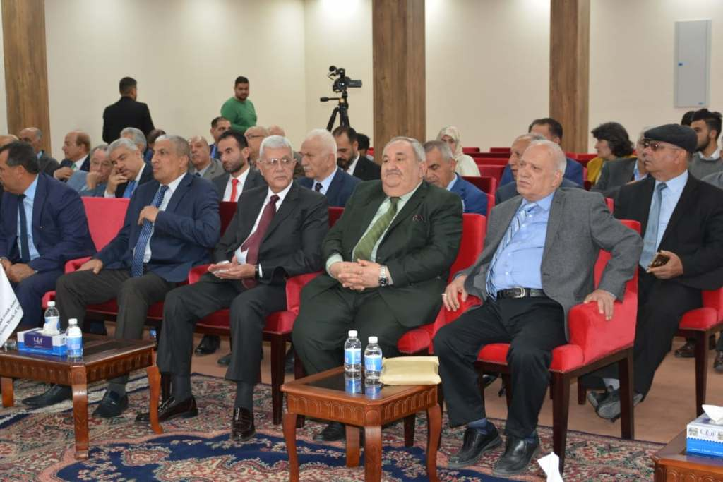 كلية بغداد للعلوم الاقتصادية - الجمعية العراقية للعلوم السياسية: تكرم الاستاذ الدكتور لبنان الشامي