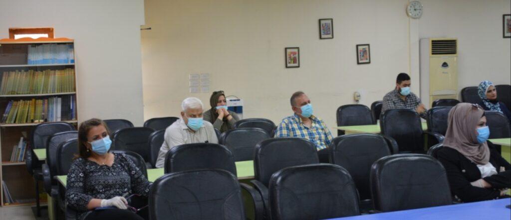 كلية بغداد للعلوم الاقتصادية • وكان هدف الدورة هو تطوير مهارات المتدربين ليقوموا بمهمة تجريب ورفع قدرات الهيئة التدريسية في الكلية لتطبيق التعليم الالكتروني بشكل صحيح.
