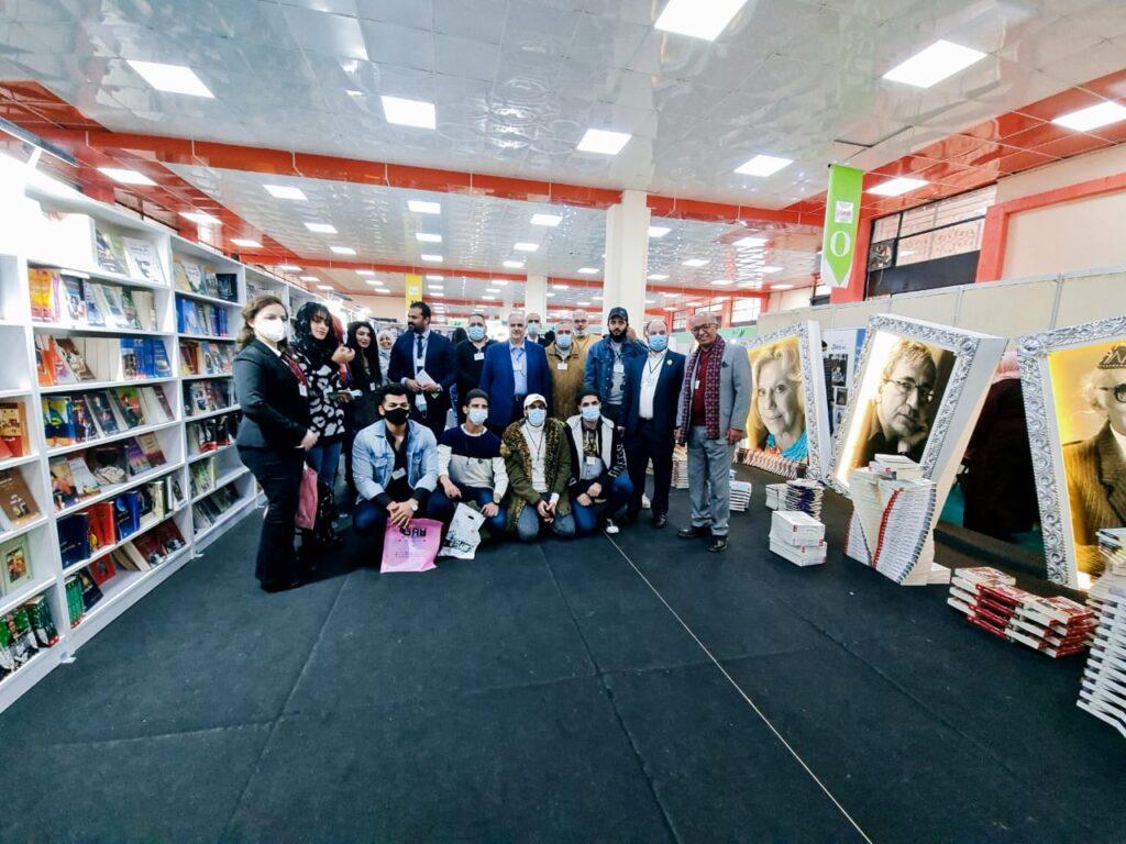 كلية بغداد للعلوم الاقتصادية • برعاية السيد عميد كلية بغداد للعلوم الاقتصادية الاستاذ الدكتور طلال محمد علي الجِجاوي، شارك وفد من الكلية في معرض الكتاب الدولي المقام على ارض معرض بغداد الدولي يوم الاربعاء الموافق 2020/12/16.