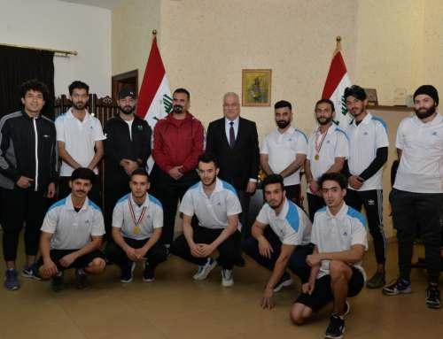 كلية بغداد للعلوم الاقتصادية الجامعة تحصل على المركز الثالث في مسابقة المارثون