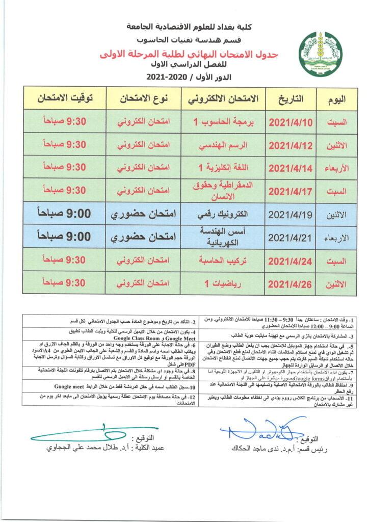 كلية بغداد للعلوم الاقتصادية •
