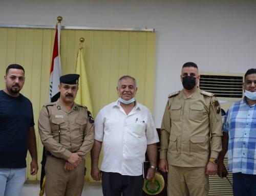الدفاع المدني يحاضر في كلية بغداد للعلوم الاقتصادية الجامعة