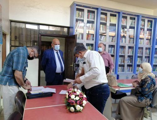 جهاز الاشراف والتقويم العلمي :بجولة ميدانية في كلية بغداد للعلوم الاقتصادية