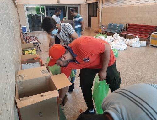 تحت عنوان سلة رمضان كلية بغداد للعلوم الاقتصادية  توزع السلال الرمضانية للمحتاجين