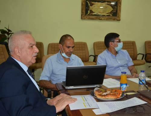 لجنة الطاقة الاستيعابية تزور كلية بغداد للعلوم الاقتصادية الجامعة